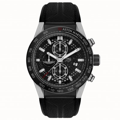 TAG Heuer Carrera Calibre Heuer 01 CAR2A1AB.FT6163 Calibre HEUER 01, Automatic Chronograph, 45 mm