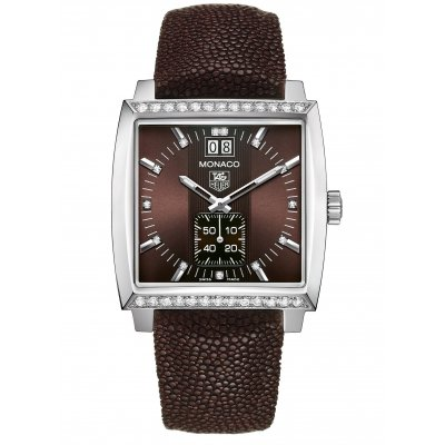 TAG Heuer Monaco WAW1316.EB0025 Diamanty, Quartz, 37 mm