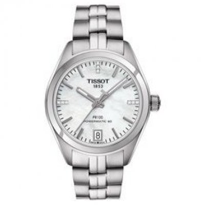 Tissot T-Classic PR100 T101.207.11.116.00 Powermatic 80, Diamanty, 33 mm