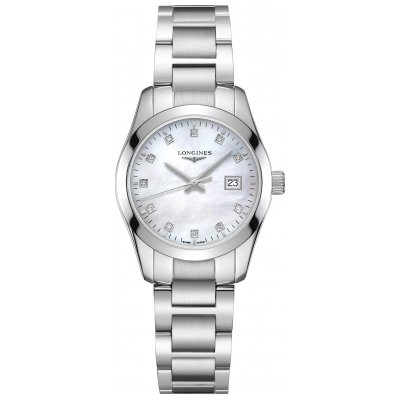 Longines Conquest Classic L22864876 Diamanty, Quartz, 29.50 mm