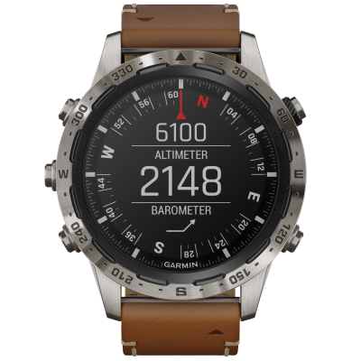 Garmin MARQ Adventurer 010-02006-27 46 mm, Titanium case, Water resistance 100 M