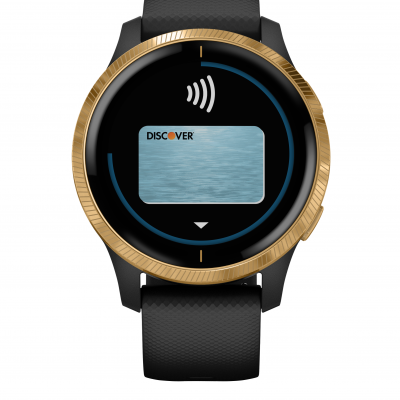 Garmin Venu Gold/Black 010-02173-33 43 mm, Gorilla Glass, Vode odolnosť 50M
