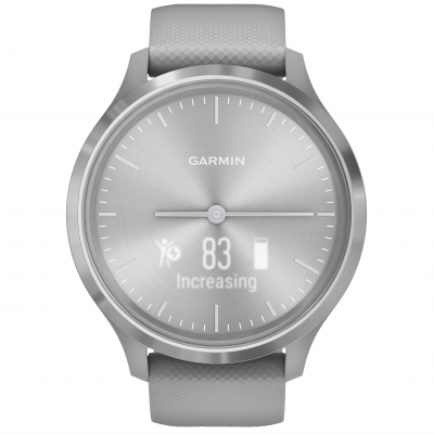 Garmin Vivomove 3 Powder Gray/Silver 010-02239-20 44 mm, Power Glass, Vode odolnosť 50M