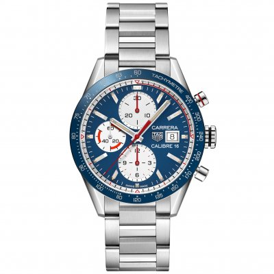 TAG Heuer Carrera CV201AR.BA0715 Automat Chronograph, Water resistance 100m, 41mm