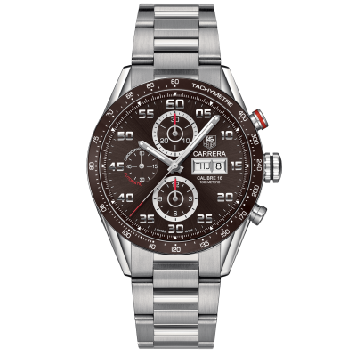 TAG Heuer Carrera Calibre 16 Day-Date CV2A1S.BA0799 Automat Chronograf, 43 mm