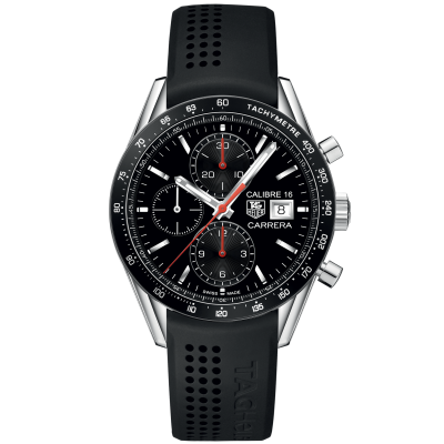 TAG Heuer Carrera Calibre 16 CV201AK.FT6040 Automat Chronograf, 41 mm