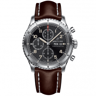 Breitling Aviator 8 Chronograph A13316101B1X3 Automat Chronograph, Water resistance 100M, 43 mm