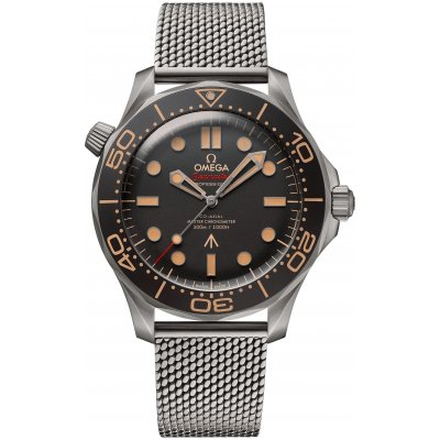 Omega Seamaster Diver 300M 007 Edition 210.90.42.20.01.001 James Bond, Titanium, 42 mm