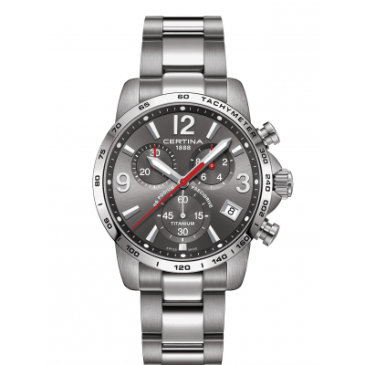 Certina DS Podium C034.417.44.087.00 Precidrive 1/10, Quartz Chronograf, 41 mm