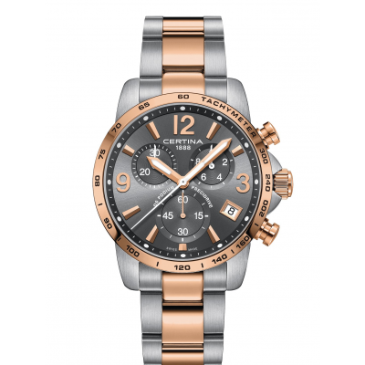 Certina DS Podium C034.417.22.087.00 Precidrive 1/10, Quartz Chronograf, 41 mm