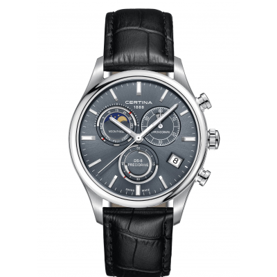 Certina DS-8 C033.450.16.351.00 Mesačné fázy, Quartz Chronograf, 42 mm