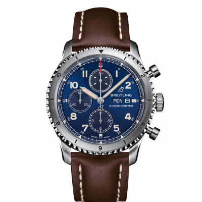 Breitling Aviator 8 Chronograph A13316101C1X4 Automat Chronograph, Water resistance 100M, 43 mm