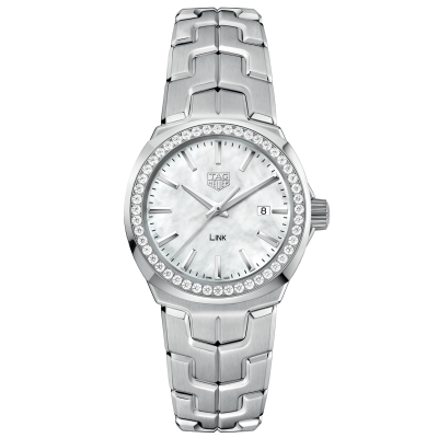 TAG Heuer Link WBC1314.BA0600 Diamonds, Quartz, 32 mm