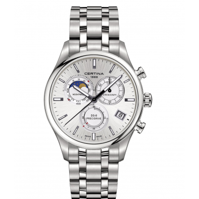 Certina DS-8 C033.450.11.031.00 Mesačné fázy, Quartz Chronograf, 42 mm