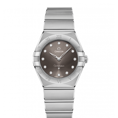 Omega Constellation Manhattan 131.10.28.60.56.001 Diamanty, Quartz, 28mm