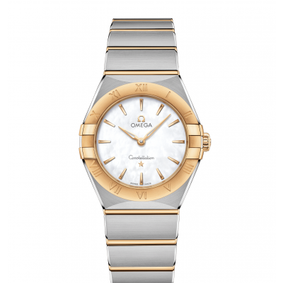 Omega Constellation Manhattan 131.20.28.60.05.002 Zlato, Quartz, 28mm