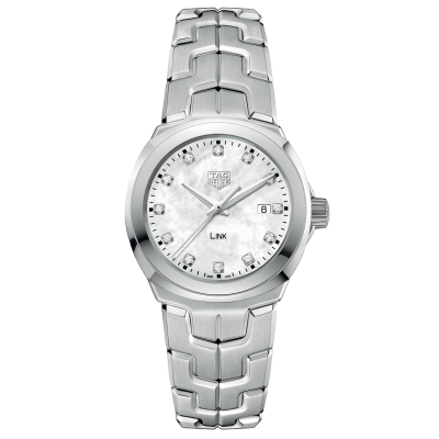 TAG Heuer Link WBC1312.BA0600 Diamanty, Quartz, 32 mm