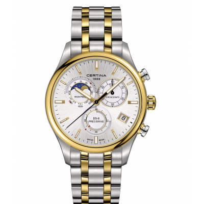 Certina DS-8 C033.450.22.031.00 Mesačné fázy, Quartz Chronograf, 42 mm