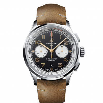 "Breitling Premier B01 Chronograph 42 AB0118A21B1X1 ""Edition """"NORTON"""", In-house calibre, 42 mm,"""