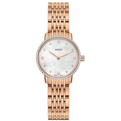 Rado Coupole Classic Diamonds R22 896 92 4 Diamanty, Quartz, 27 mm