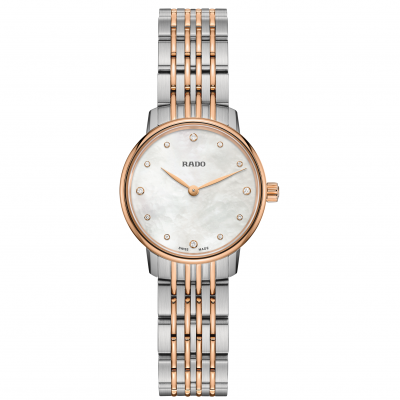 Rado Coupole Classic R22 897 92 3 Diamanty, Quartz, 27 mm