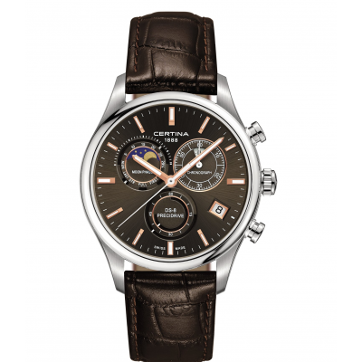 Certina DS-8 C033.450.16.081.00 Mesačné fázy, Quartz Chronograf, 42 mm
