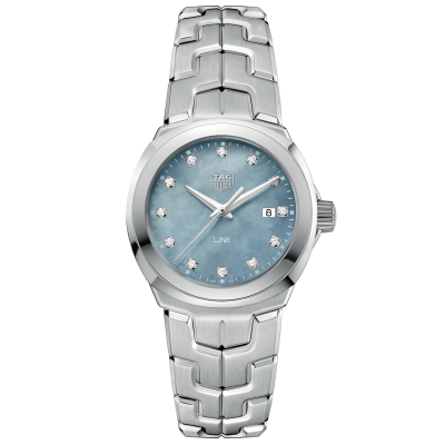 TAG Heuer Link WBC1313.BA0600 Diamanty, Quartz, 32 mm