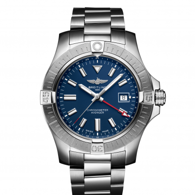 Breitling Avenger Automatic GMT 45 A32395101C1A1 Automat, Vode odolnosť 300M, 45 mm