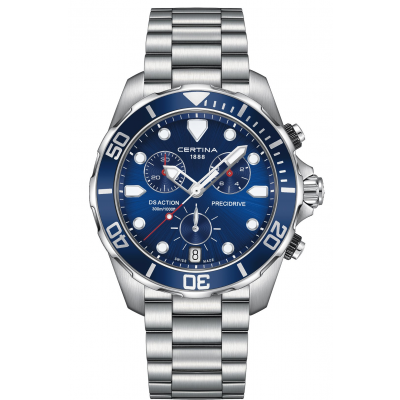 Certina DS Action C032.417.11.041.00 Water resistance 300M, Quartz Chronograph, 43 mm