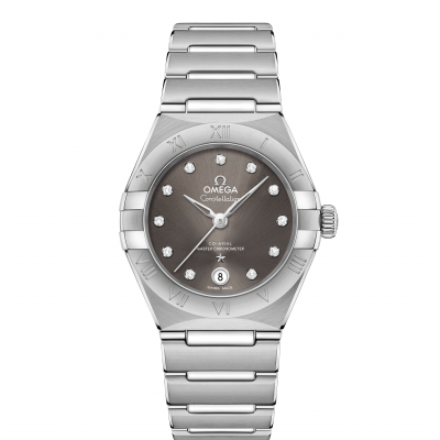 Omega Constellation Manhattan 131.10.29.20.56.001 In-house calibre, Diamonds, 29mm