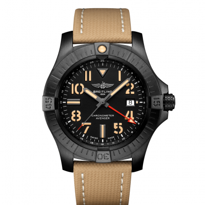 Breitling Avenger Automatic GMT 45 Night Mission V32395101B1X1 Automat, Vode odolnosť 300M, 45 mm
