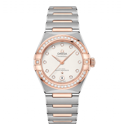 Omega Constellation Manhattan 131.25.29.20.52.001 Sedna™ Gold, Diamonds, Automat, 29mm